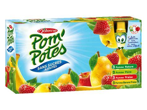pom potes sans sucres ajoutes multivariete tous les produits compotes prixing