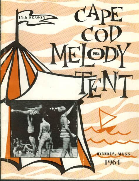 Cape Cod Melody Tent Season Of 1964 Brochure Hyannis Ma