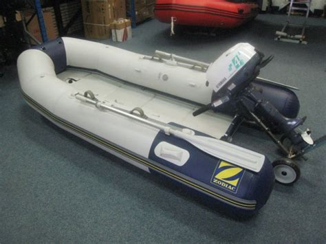 Rubberboot Met Stuur Zonder Motor by Nieuwe Zodiac Rubberboot Kopen Voor De Laagste Prijs Te