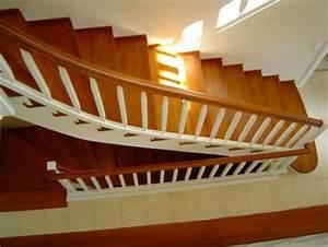 Treppenstufen Weiß Lackieren : treppenstufen auf beton in buche gel nder weiss treppen galerie ~ Markanthonyermac.com Haus und Dekorationen