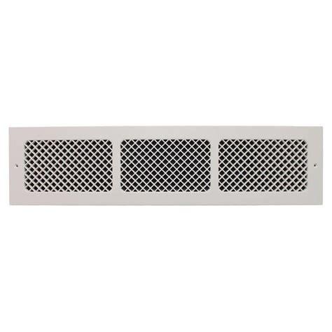 smi ventilation products essex base board 6 in x 30 in