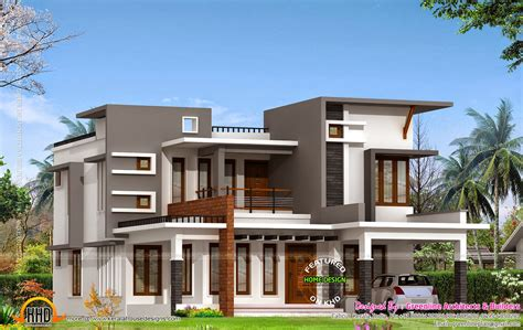 Contemporary House With Estimate Cost ₹28 Lakhs  Kerala