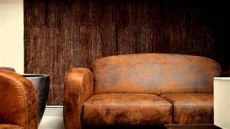 ensemble club fauteuil et canap 233 imitation cuir vieilli mod 232 le lublin