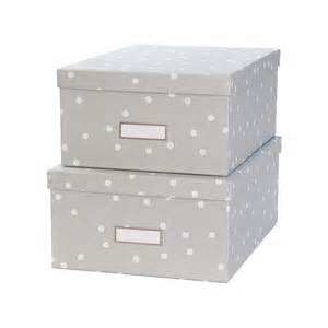 bo 238 te en gris 224 pois blancs rangement courrier
