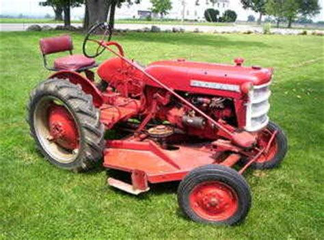 used farm tractors for sale farmall cub lo boy w deck