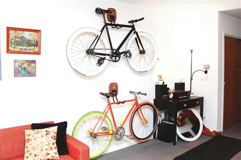 creative bike storage for tiny spaces osmweasel news