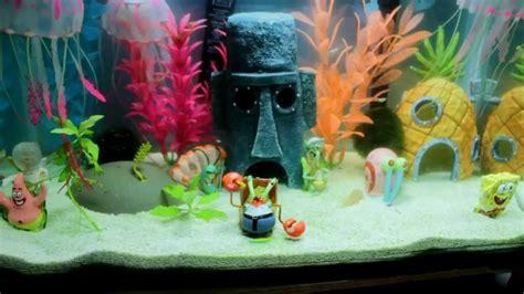 best complete spongebob theme aquarium