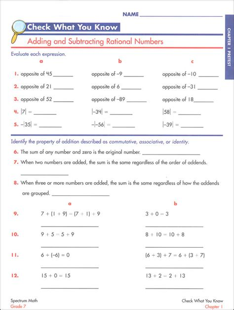 Spectrum Reading Grade 6 Worksheets Worksheets For All  Download And Share Worksheets  Free On