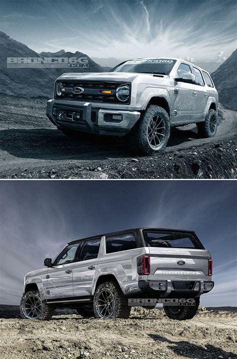 2020 Ford Bronco Concept Puts Modern Twist On Classic