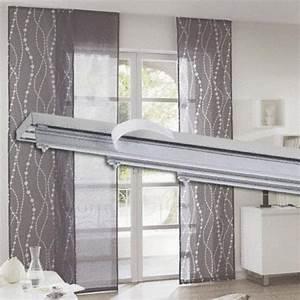 Schiebegardinen Weiß Mit Muster : fl chenvorhang system von bauhaus ansehen ~ Markanthonyermac.com Haus und Dekorationen