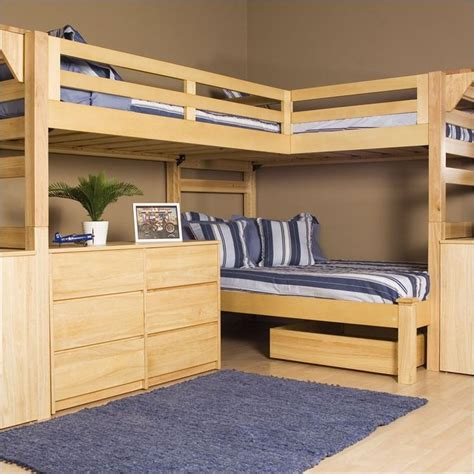 1000 ideas about l shaped bunk beds on l