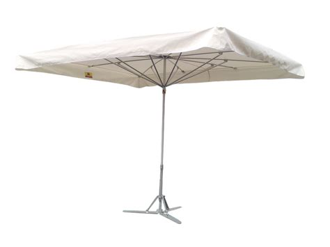 parasol de marche 400x300 ecru lambrequin droit sans pied probroc
