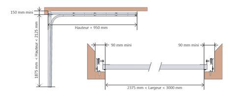 fen 234 tres porte de garage sectionnelle aluminium