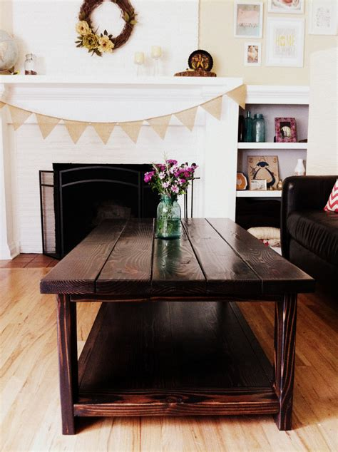 Ana White Diy Farmhouse Coffee Table Weekend Project