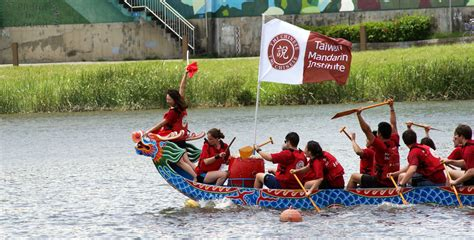 Dragon Boat Festival Chinese Name by Taiwan Mandarin Institute Taipei Tmi Wins Dragon Boat Race