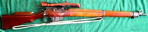 Enfield Savage No. 4 MK 1 (T) Sniper, matching ... for sale