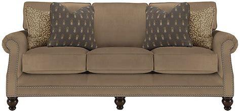 farrah dk taupe microfiber sofa family room