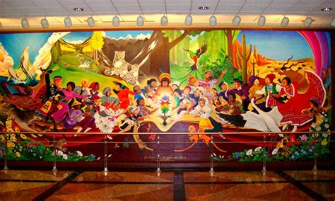 denver airport murals and horrific morbid paintings explained denver airport and denver