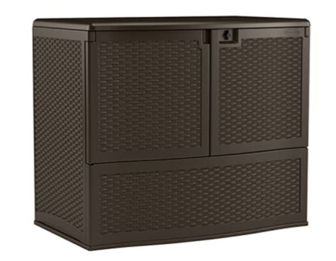entertaining and storage box by suncast