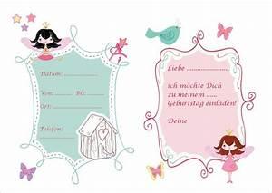 Einladung Kindergeburtstag Gestalten : einladung feen geburtstag 1 kindergeburtstag ~ Markanthonyermac.com Haus und Dekorationen