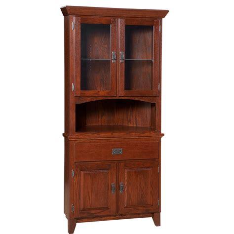 Mission Corner Cabinet  Home Envy Furnishings Solid Wood