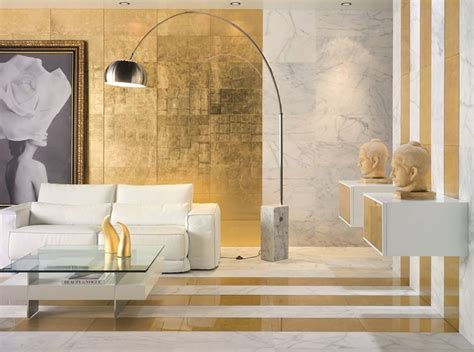 White And Gold Sunny Interiors  Home And Decoration