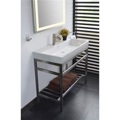 American Standard Retrospect Sink And Washstand by Sink Metal Console Best Home Decoration