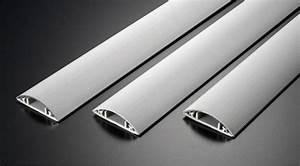 Kabelkanal Boden Flach : 1m aluminium fussboden kabelkanal selbstklebend 50mm breit au enma kabel kabelmontage ~ Markanthonyermac.com Haus und Dekorationen