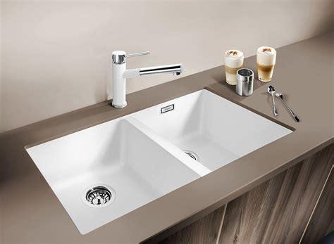 Silgranit Double Bowl Undermount Sink White