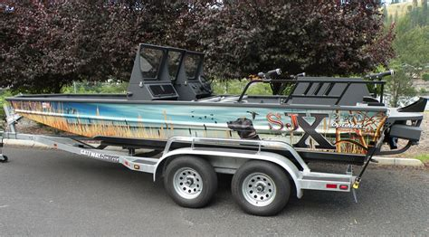 Duck Hunting Jet Boat For Sale by Sjx Boats Homepage Sjx Boats
