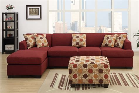 Casual Piece Dark Red Sofa Sectional Chaise Matching Accent On Red Living Room Dark Curtains White Ruffle Shower Curtain Pottery Barn How To Tie Back Curtains With Hooks Hang Without Rail Do You Calculate Fabric For Windows Vertical Blinds And Designs Bedroom 2018 Bathroom Window Ideas Installing Rods On Frame