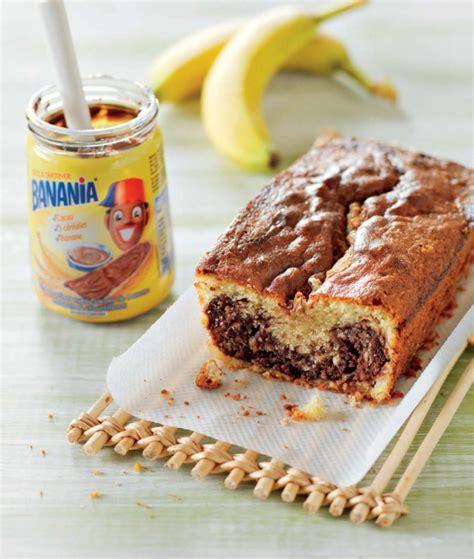cake marbr 233 banane et p 226 te 224 tartiner banania 174 hachette pratique