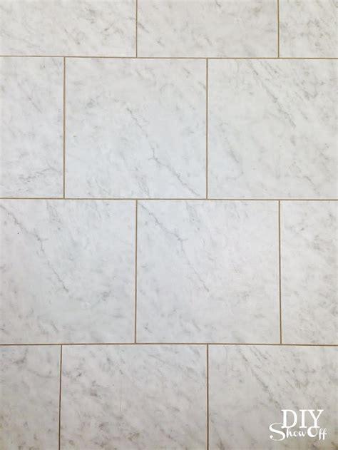diy grouted vinyl floor tiles diy show diy decorating and home improvement blogdiy