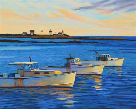 Lobster Boat Art by Lobster Boat Paintings Pictures To Pin On Pinterest