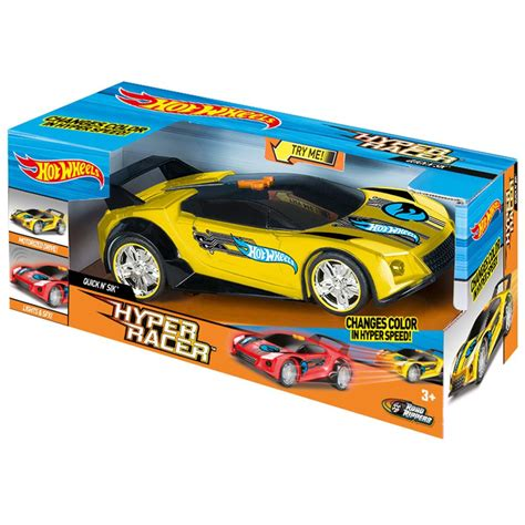 Speelgoed Quick by Hot Wheels Hyper Racer Super Quick N Sik Actieauto 90533