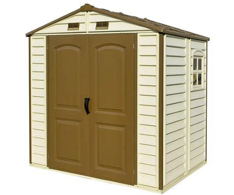 duramax sheds vinyl storage shed kits