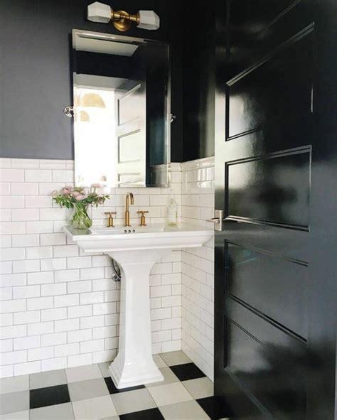 carrelage damier noir et blanc salle de bain cuisine sol damier noir et blanc carrelage sol