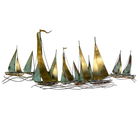 Large Sailboat Wall Decor by Thank You For Being Sophisticated Gt Tyfbs