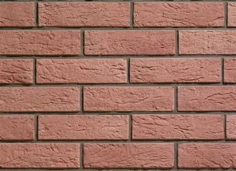 reconstructed wall tiles with brick effect interfix by weser