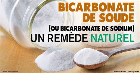 bicarbonate de soude ou bicarbonate de sodium