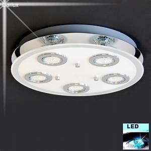 Deckenlampe Badezimmer Led : deckenleuchte led deckenlampe 3591 058 briloner surfline bad leuchte lampe neu ebay ~ Markanthonyermac.com Haus und Dekorationen