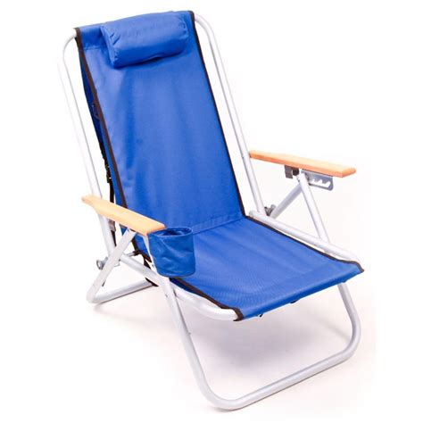 brands sc540 4 position aluminum backpack chair