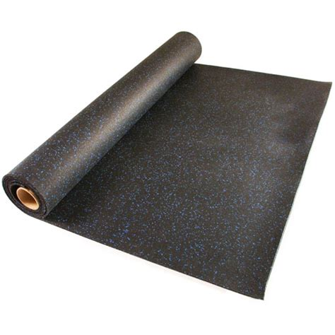 home rubber flooring roll 4x10 ft x 1 4 inch home rubber floor