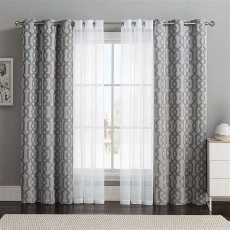 25 best ideas about layered curtains on