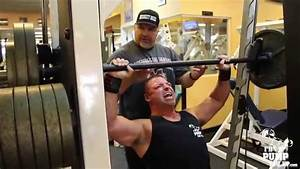 Tim Muriello Big J Shoulder Back Workout at Clearwater ...