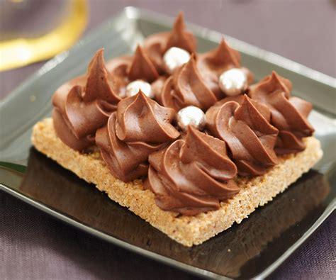 recette de g 226 teau croustillant aux deux chocolats facile et rapide