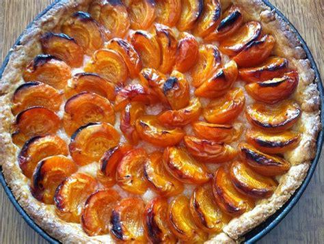 recette tarte aux abricots frais sur recette