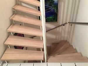 Treppenstufen Weiß Lackieren : treppenstufen eiche ge lt julius m bel kreativ funktionell ~ Markanthonyermac.com Haus und Dekorationen