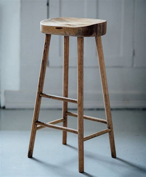 Simple Wooden Stool  Wishlist  Pinterest  Oak Bar