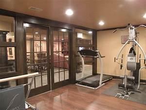 Basement #1 - Traditional - Home Gym - Cincinnati - by ...